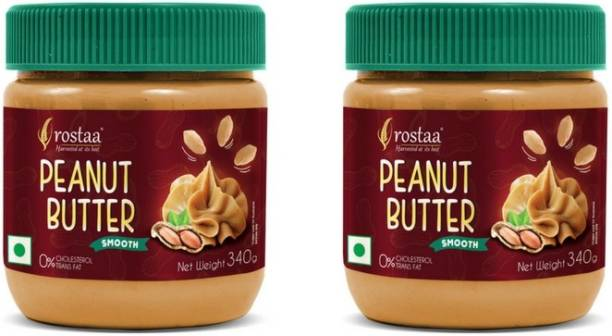 rostaa PeanutButter Smooth (Pack of 2) 340 g