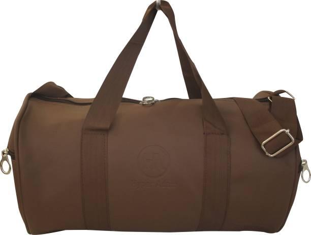 2ec39b3b1e Hyper Adam Leather Rite Antique Trendy Gym Bag   Duffel Bag 17 inch 43 cm