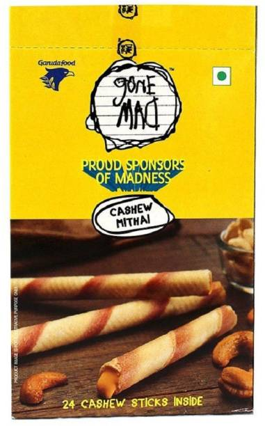 Gone Mad Cashew Sticks (Pack of 5) Waffles on a stick