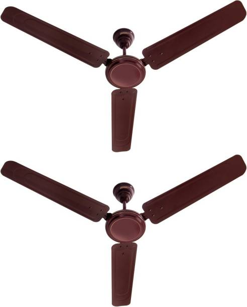 USHA Ace Ex Pack of 2 1200 mm 3 Blade Ceiling Fan