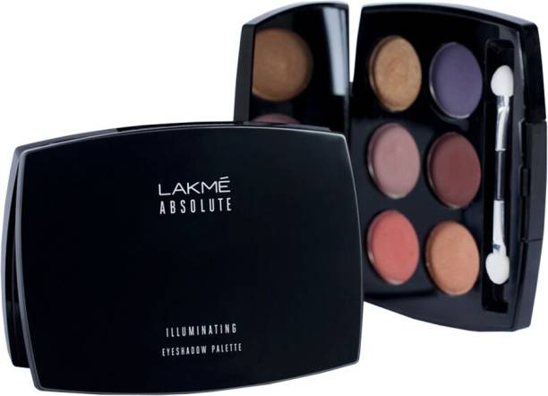Lakme Absolute Illuminating Eye Shadow Palette 7 5 G