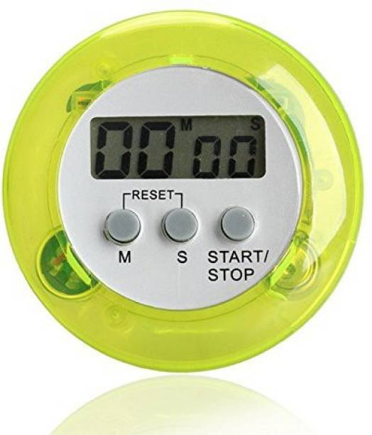 Rhonnium Seafoam Mini Lcd Kitchen Timer Stop Watch Cooking Countdown Led Clock Alarm With