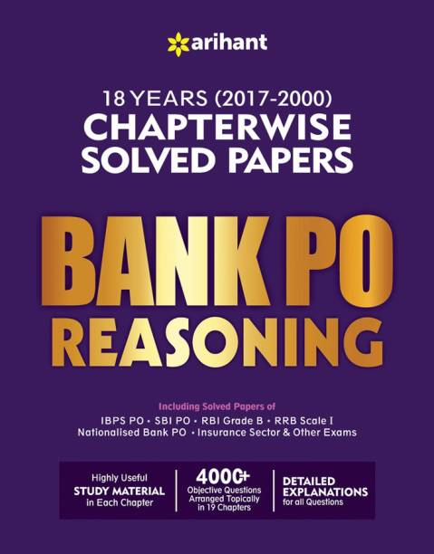 Banking exam books buy banking exam books online at best prices bank po reasoning chapterwise solved papers fandeluxe Gallery