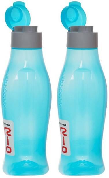 aa70f7f965 Prince Present Varmora Aqua Rio 750 ML Set of 2 with Unbreakable plastic  material. 750