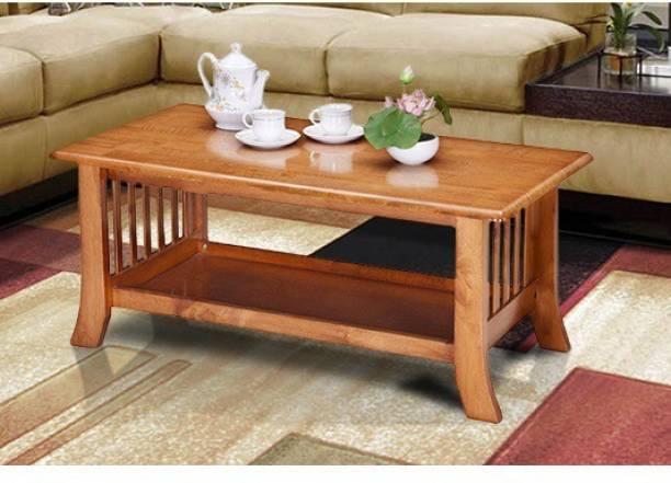 RoyalOak Zelma Solid Wood Coffee Table