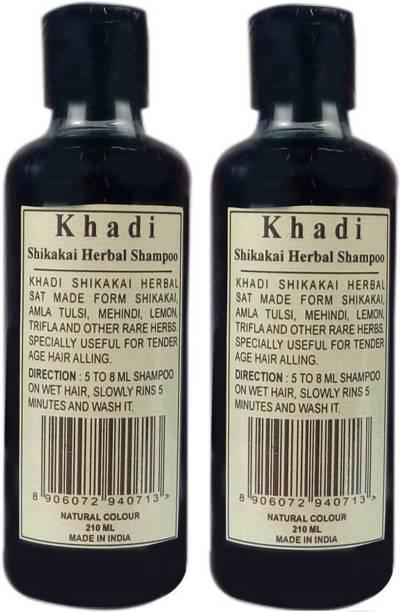 Khadi Herbal SHIKAKAI SHAMPOO-Natural Colour