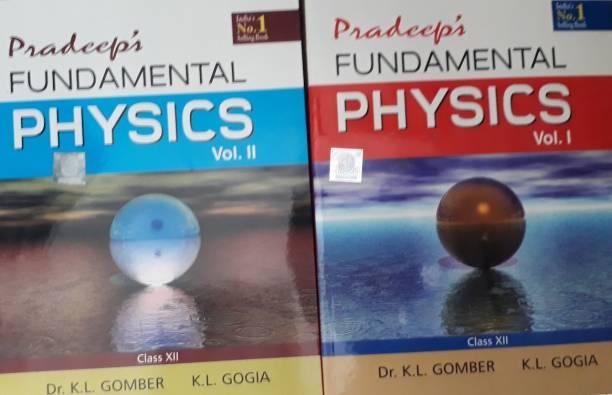 PRADEEP'S FUNDAMENTAL PHYSICS CLASS XII (SET OF 2 VOLUME)