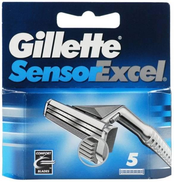 GILLETTE Sensor Excel 5 Cartridges