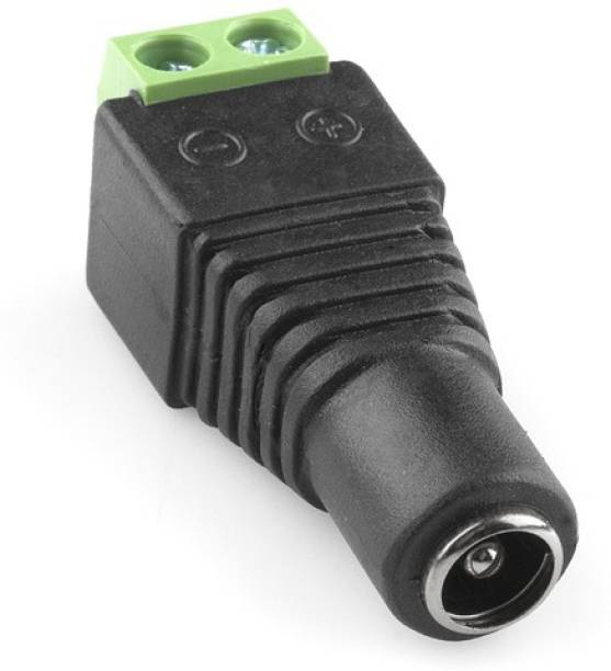RETRACK Screw Fastening Type Female DC Power Plug-Connector DC Power Female Wire Connector