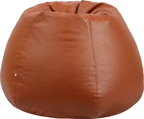 Springtek XXXL Tear Drop Bean Bag Cover  (Without Beans)