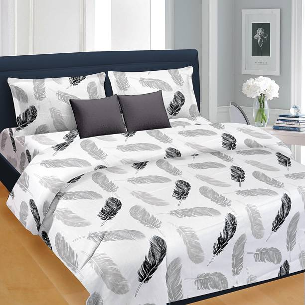 Nice Cotton 144 Tc Double Printed Bedsheet