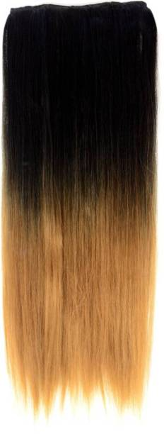 PEMA Golden double shade 2 clip in Hair Extension
