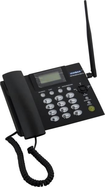 ICHIBAN Gsm Fixed Wireless Phone JT-G Corded Landline Phone with Answering Machine