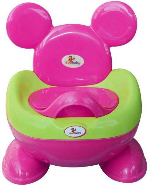 sunbaby ROYALE POTTY TRAINER MAGENTA Potty Box