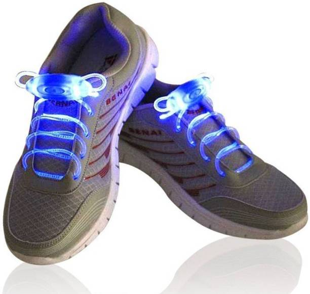 8642b7c93e4f93 DERMEIDA ® Multi-Color LED Light Up Waterproof Laces with 3 Modes for Cool  Disco