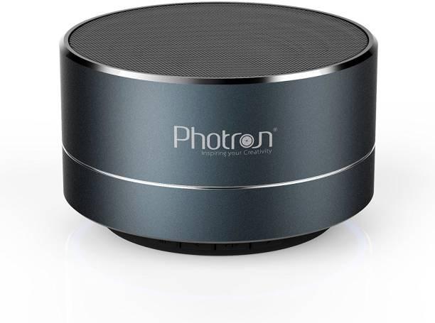 f5c928c3f91 Photron P10 Wireless Super Bass Mini Metal Aluminium Alloy Portable With  Mic 3 W Bluetooth Speaker
