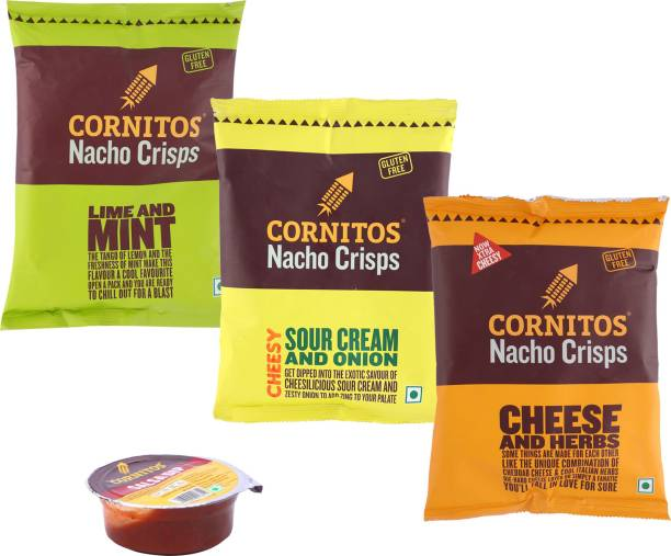 CORNITOS Salsa Combo Nachos