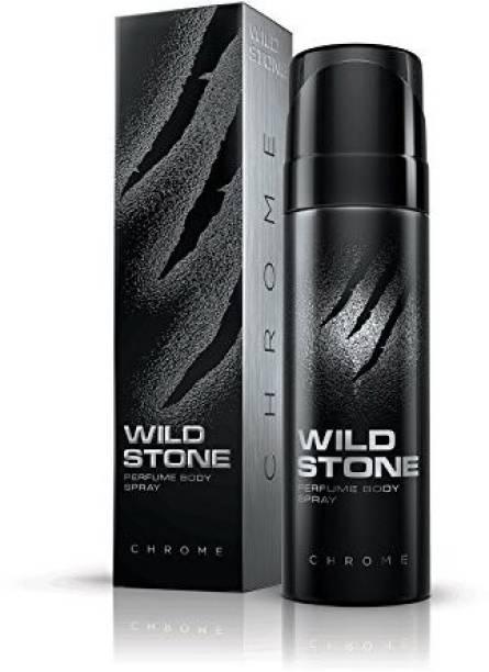 Wild Stone Chrome Perfume Body Spray  -  For Men