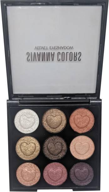 Sivanna Colors Velvet Eyeshadow 8 g