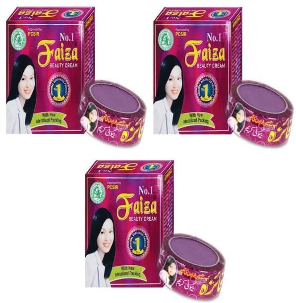 Faiza Beauty Cream (Pack Of 3)