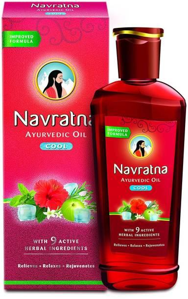 Navratna Cool Ayurvedic Hair Oil