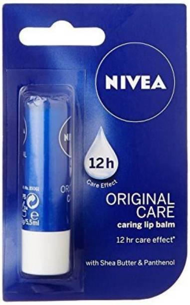 NIVEA Original Care Lip Balm Plain