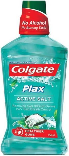 Colgate Plax Mouthwash - Active Salt