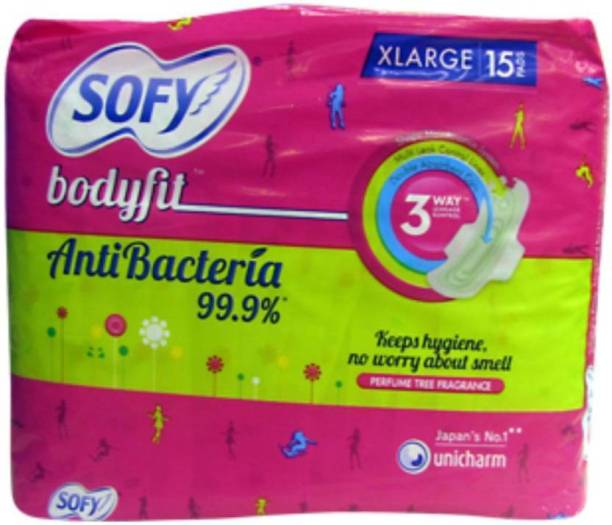 SOFY Anti Bacteria XL Wings Sanitary Pad