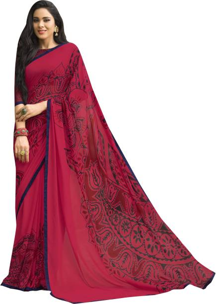 8d25e84fb5912 Red And Black Sarees - Buy Red And Black Sarees online at Best ...