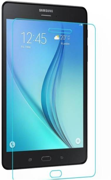 realtech Edge To Edge Tempered Glass for Samsung Galaxy Tab Active
