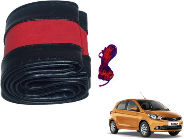 MOCKHE Hand Stiched Steering Cover For Tata NA