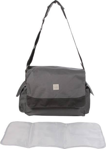 MeeMee Multipurpose Diaper Bag with Bottle Warmer   Changing Mat (Dark  Grey) Nursery Bag 95b25e2491