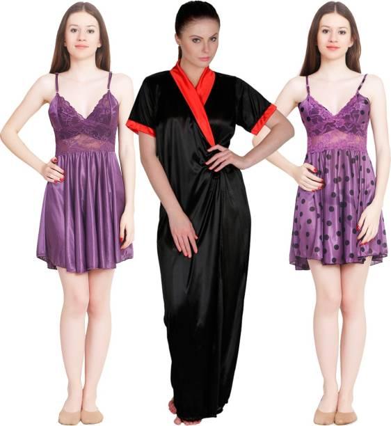 Midi Knee Length Night Dresses Nighties - Buy Midi Knee Length Night ... aa678f4ed
