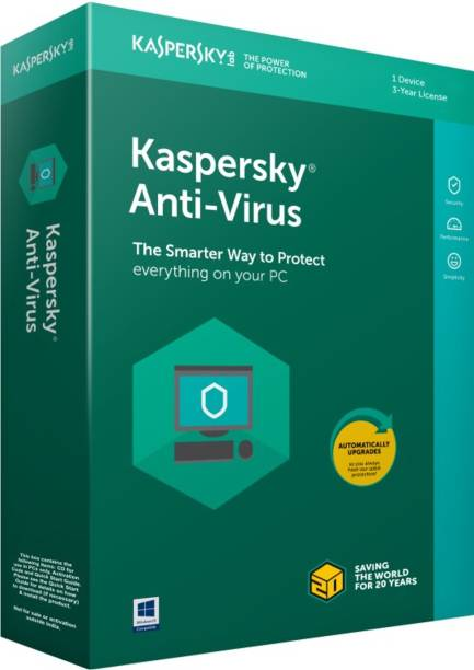 Kaspersky Anti-virus 1 User 3 Years