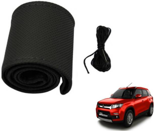 MOCKHE Hand Stiched Steering Cover For Maruti Vitara