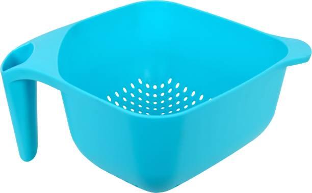 Axtry Fruit & Vegetable Baskets for Kitchen Wash & Store Basket With Handle Colander