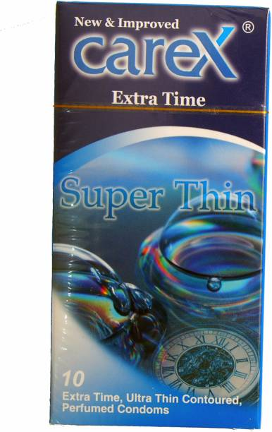 CAREX Super Thin Extra Time Condom