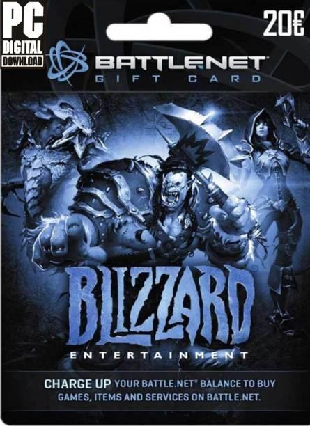 Battle Net 20 Eur Gift Card for PC