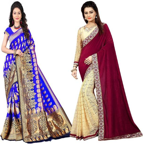 23a6913386 Jay Fashion Sarees - Buy Jay Fashion Sarees Online at Best Prices In ...