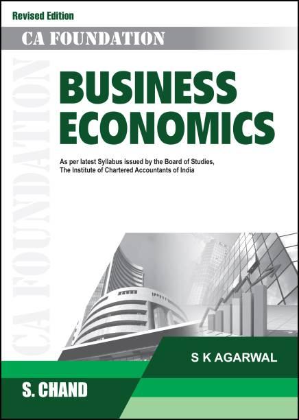Business Economics - CA Foundation 5th Edition