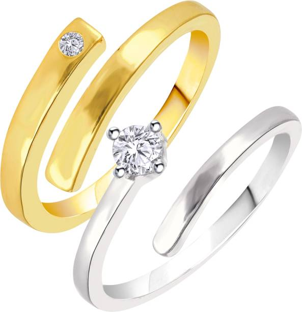 76902e0ab8a Love Couple Rings - Buy Love Couple Rings online at Best Prices in ...