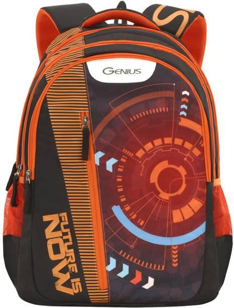 ce82b6f44bc1 Genius Scifi Orange Waterproof Backpack