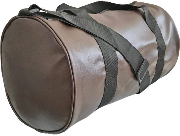 3e4b5f755a5b Hipkoo High Quality Leather Bag (Brown) Gym Bag