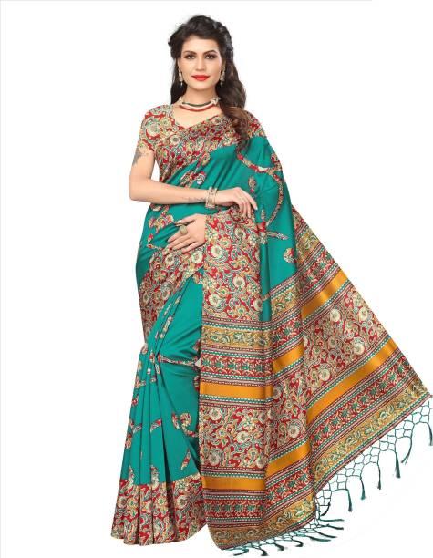 54ba2c078ca58a Kalamkari Sarees - Buy Kalamkari Cotton/Silk/Crepe Sarees online at ...