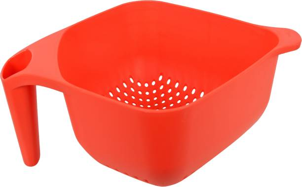 Axtry Fruit & Vegetable Baskets for Kitchen Wash & Store Basket With Handle Colander