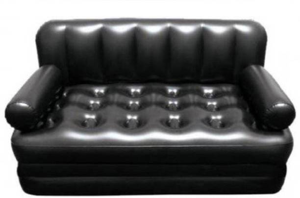 MEZIRE Airbed PVC (Polyvinyl Chloride) 3 Seater Inflatable Sofa