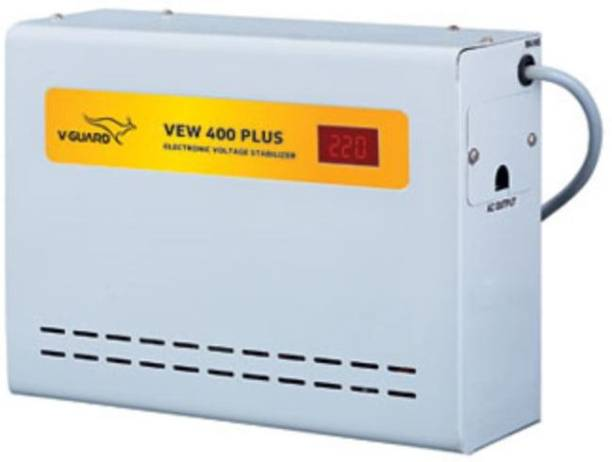 V-Guard VEW 400 Plus For Ac upto 1.5 Ton (90V-300V) Voltage Stabilizer