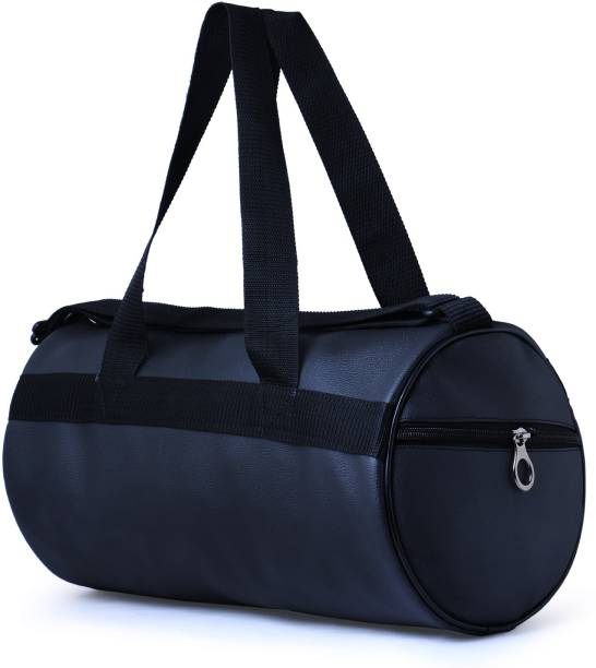 Hyper Adam Leather Rite Antique Trendy 17 inch 43 cm Gym Bag ( Black ) 411969198d96c