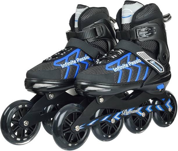 IRIS 100 mm Banwei Carbon-Steel Adjustable In-line Skates - Size 4-6 US