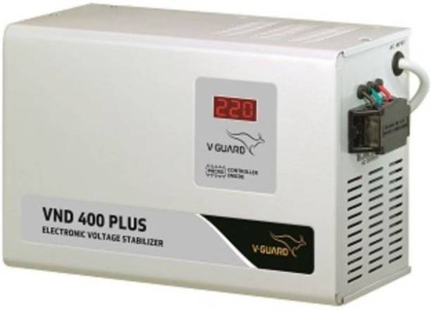 V-Guard VND 400 Plus for Ac Upto 1.5 Ton (150V - 285V) Voltage Stabilizer